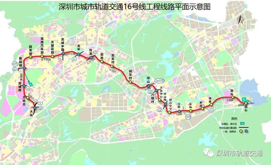 22个区间贯通、14座车站封顶!16号线土建施工加速