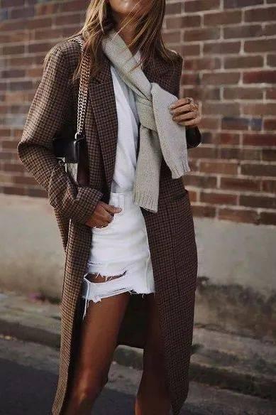 今冬会穿格纹的你,真的美炸了!