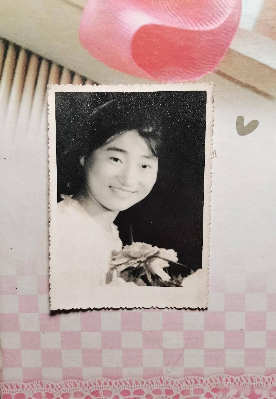 旧时光影像:我和一朵小红花