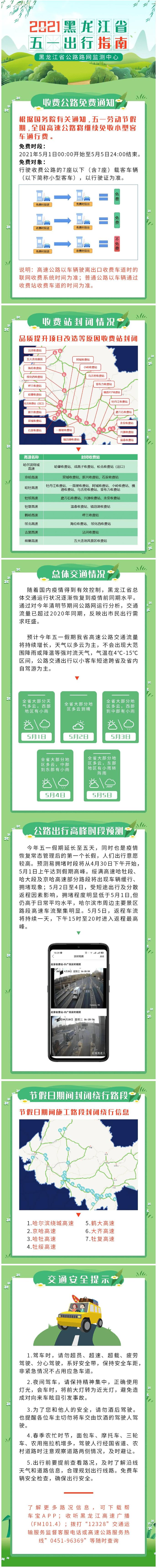 黑龙江省五一出行指南来了!带上它和好心情,准备出发!