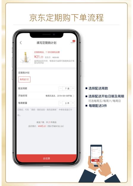 """让囤货更新鲜:京东超市618""""定期购""""特色服务上线"""
