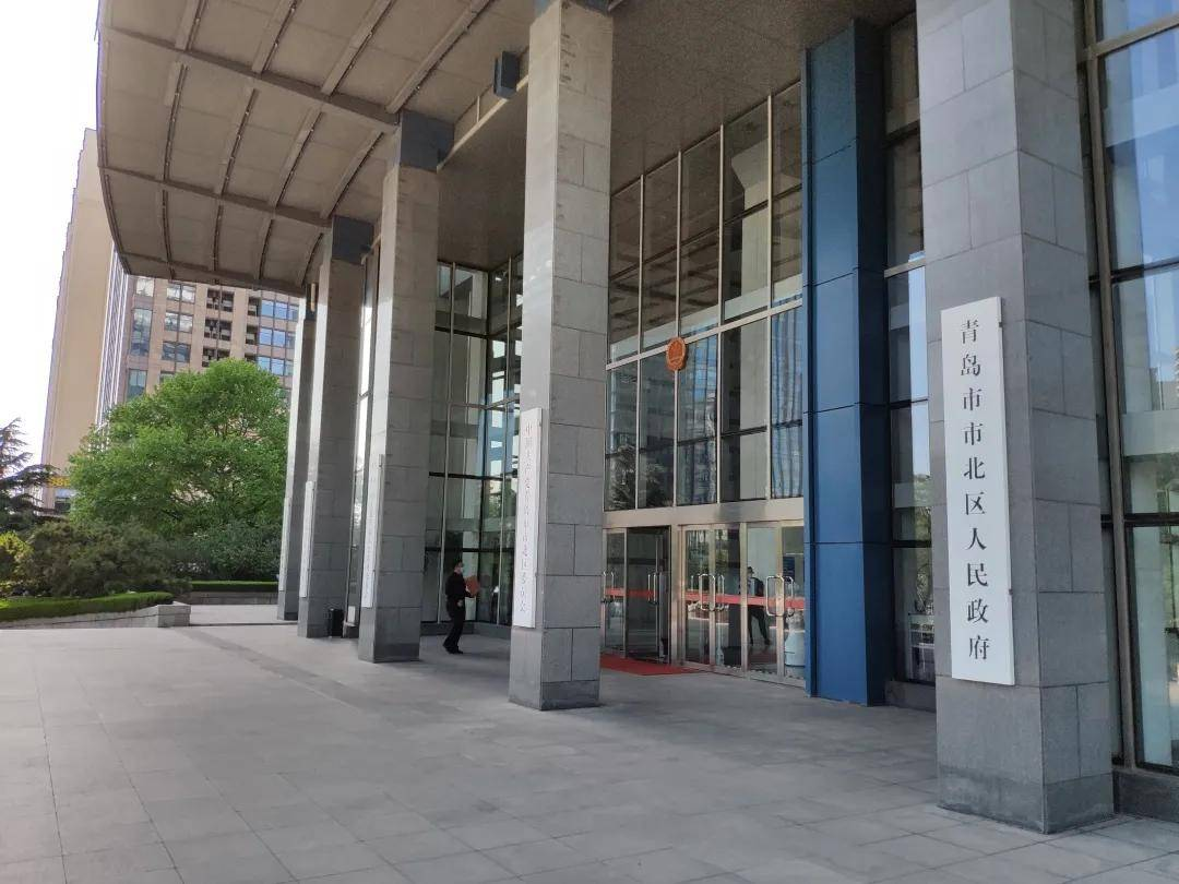 达闼科技云端智能机器人入驻青岛市北政府!