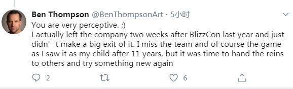 《爐石傳說》首席畫師Ben Thompson已離職