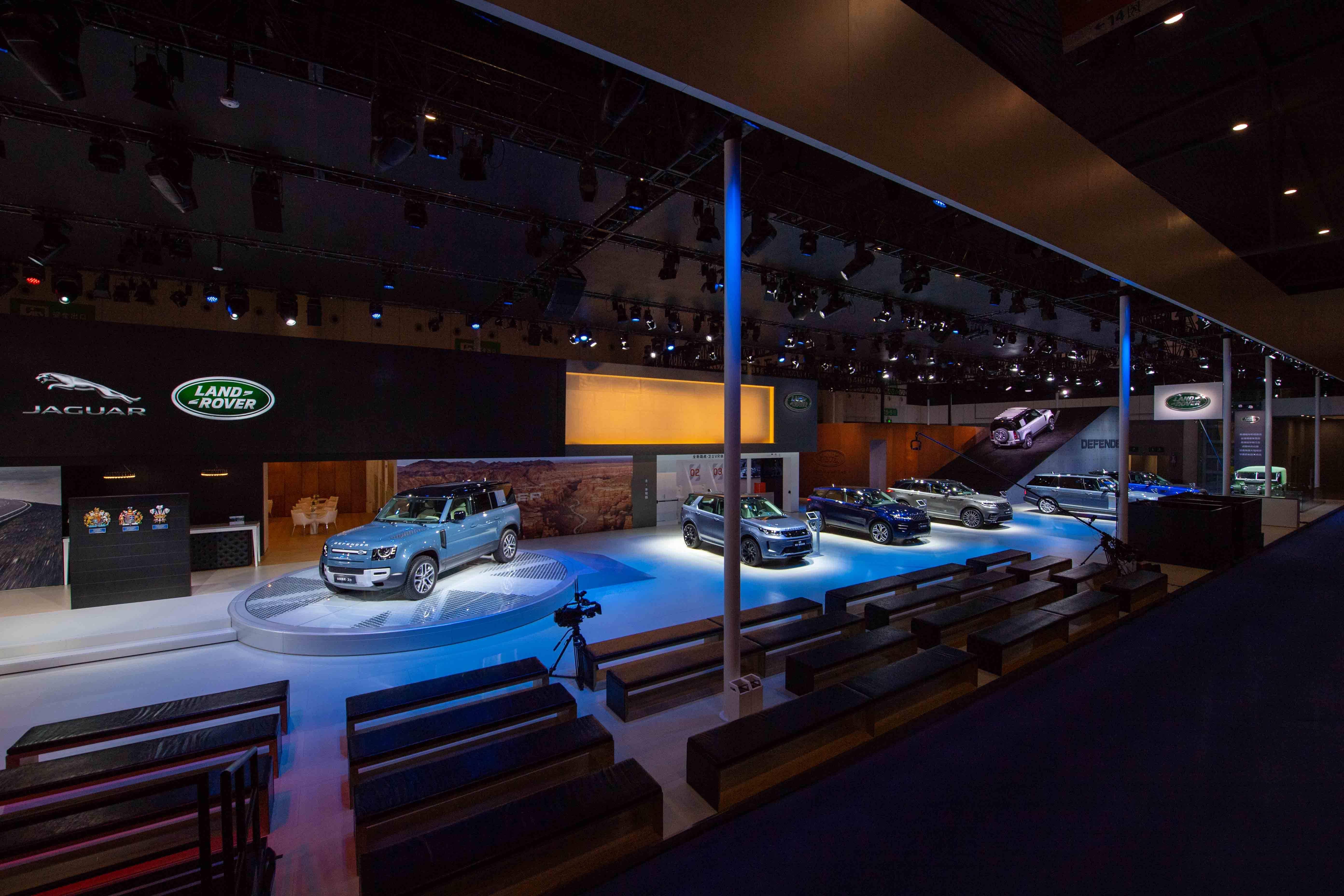 全新路虎卫士110成都车展上市 售价77.8万起
