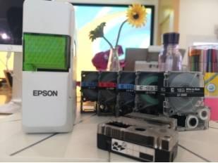 爱普生家用标签打印机 以多彩色带点亮品质生活