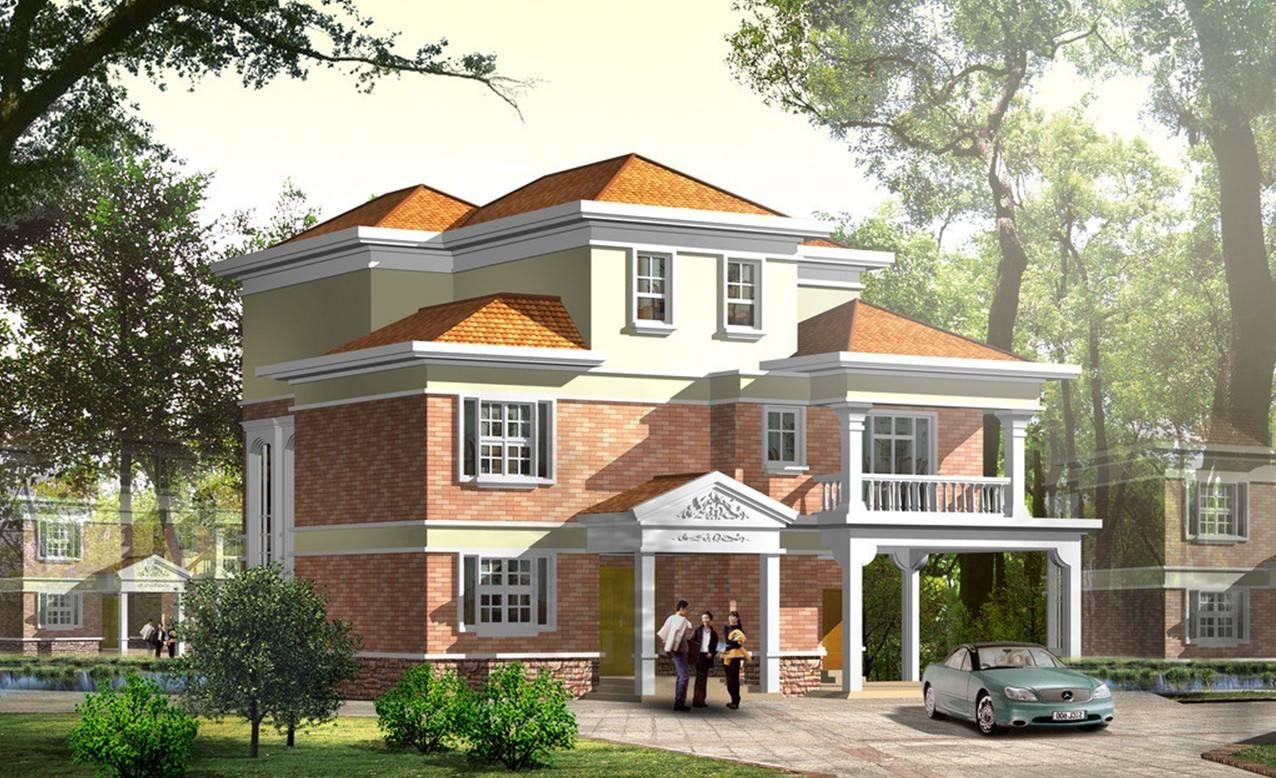 新农村房屋设计图大全(2020农村新款别墅图)