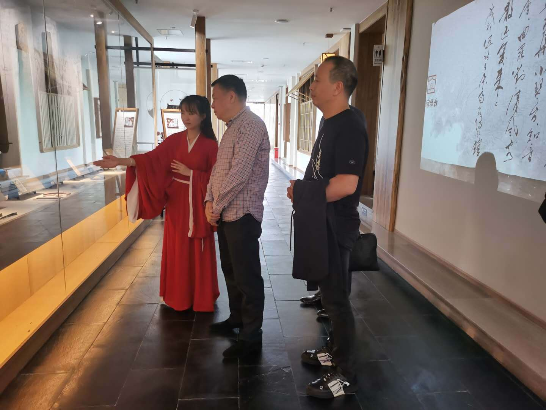 四川省文化品牌发展促进会刘广文一行走访蜀宫琴台调研考察