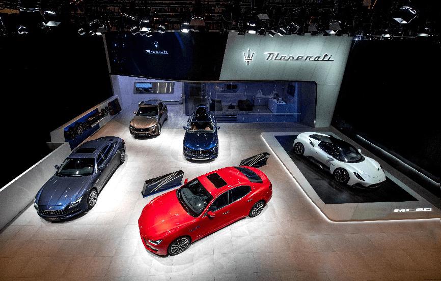 荣耀-售价210万起全新玛莎拉蒂MC20车展亮相