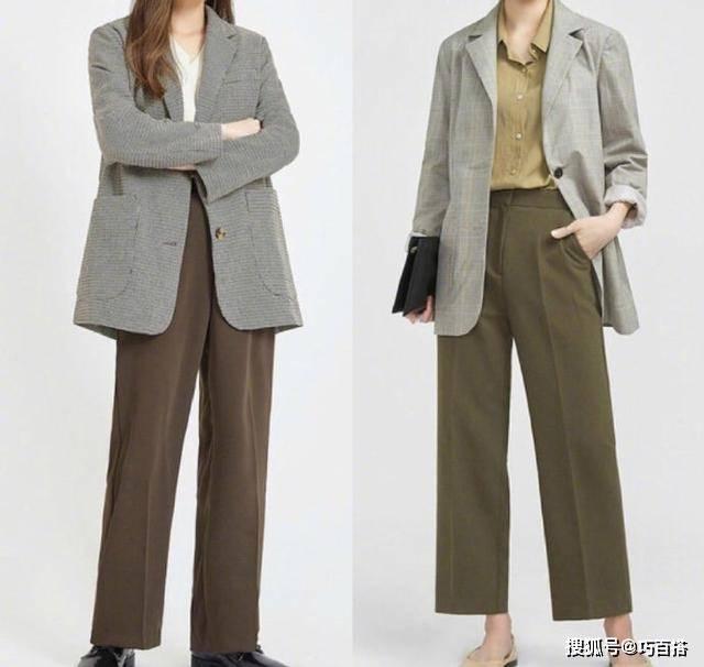 上班怎么穿好看?气质加分的18套西装搭配 让你显高显瘦