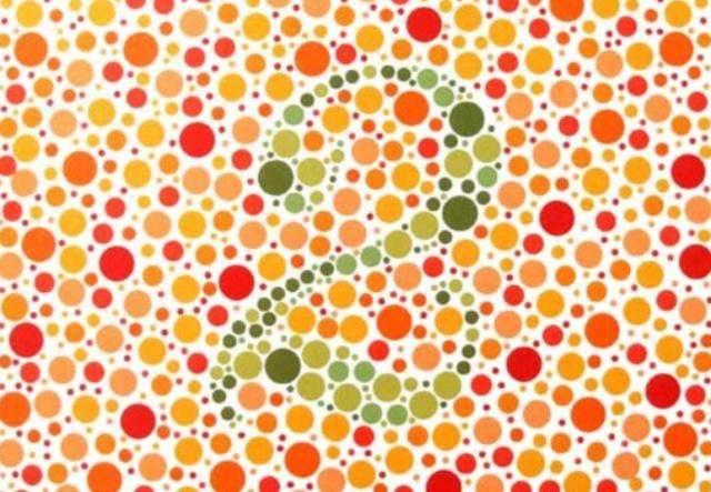 色弱测试图及答案(体检色盲色弱测试图)