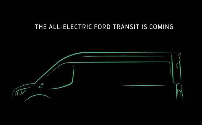 SSC设计-纯电版福特Transit将于11月正式发布