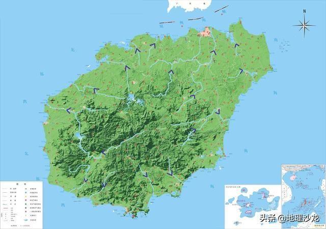 中国岛屿面积排名(中国十大海岛排名)