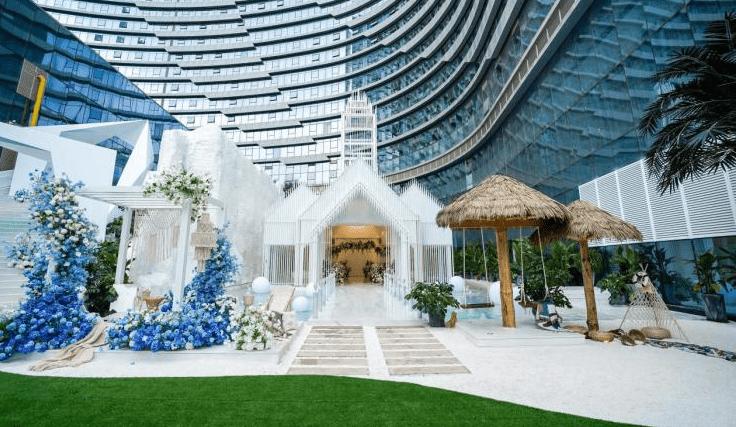 花嘉婚礼花园|见证结婚仪式的唯美圣地——仪式教堂