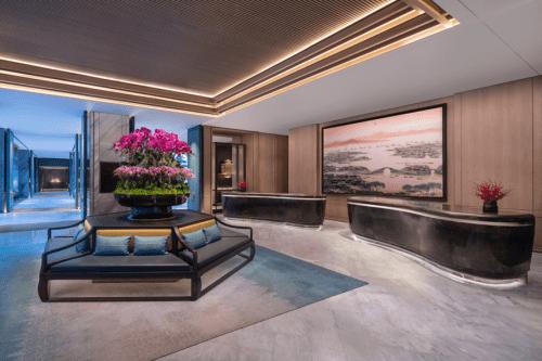 赫希贝德纳联合设计顾问公司(HBA)为苏州柏悦酒店打造独特的湖畔庄园