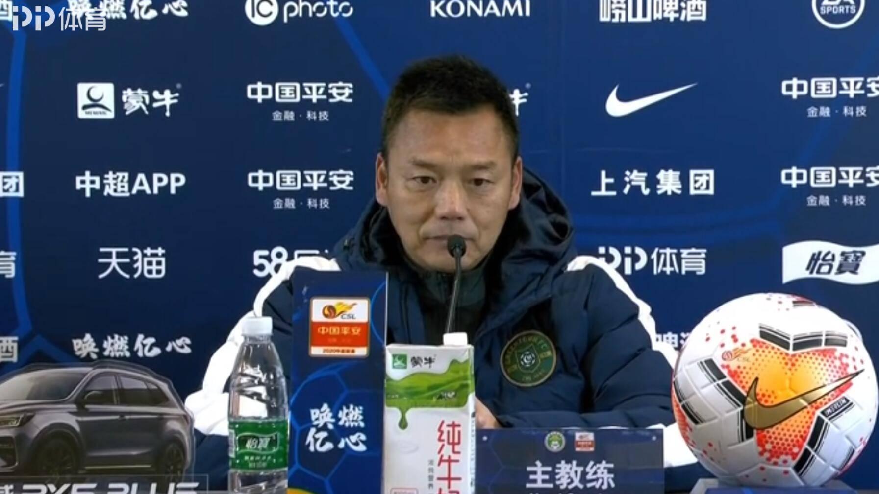 郑雄:这支年轻的队伍是浙江足球的未来,相信他们的明天会更好