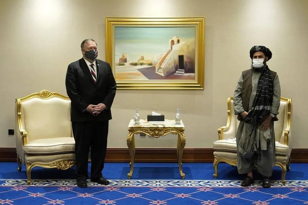 蓬佩奥即将到访之际,阿富汗首都突遭迫击炮袭击。中东地区新冠疫
