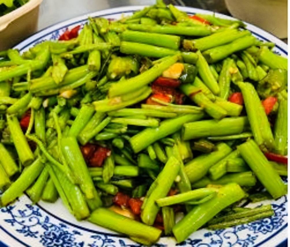 原創通菜梗炒肉末,豆豉通菜梗,做法簡單快速,口感清脆非常下飯