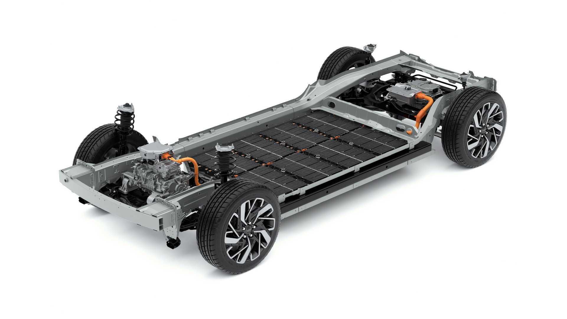 SSC设计-可最�高续航达310英里 现代E-GMP电动车平〓台亮相