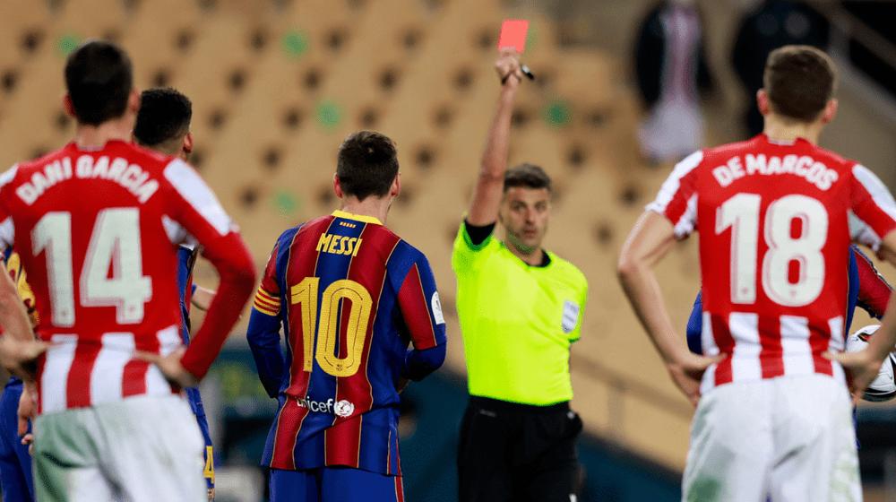 罚下梅西的裁判曾罚下苏牙和内马尔
