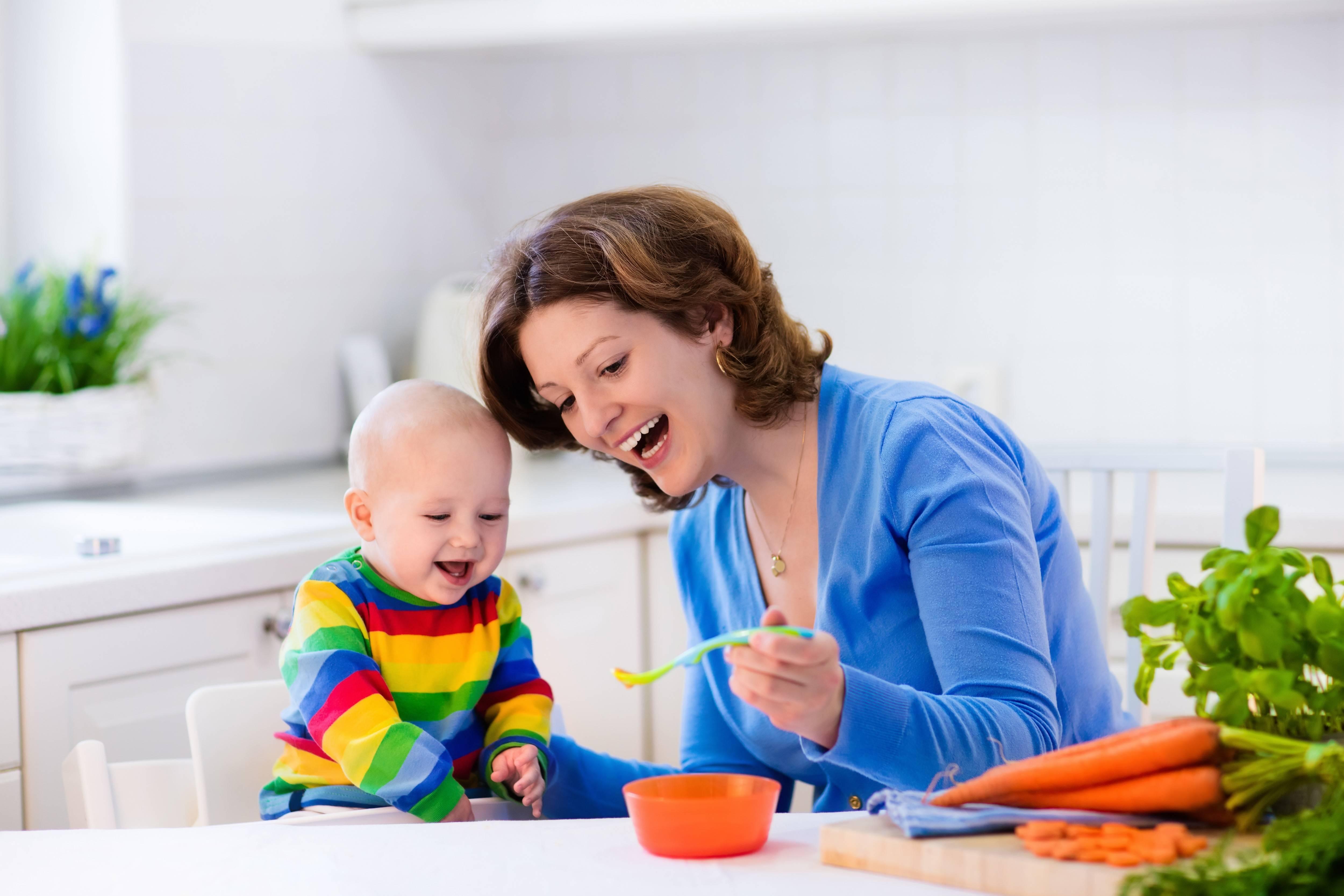 宝宝添加辅食易发肠道疾病,适当补充妈咪爱可帮助预防