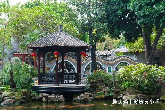实拍广东四大名园之首,也是中国十大名园之一,风景如同世外桃源