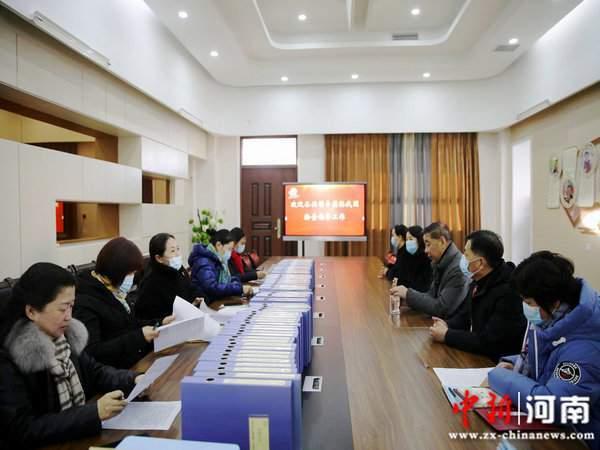 许昌实验幼儿园迎接许昌市教育局2020年度复核审验工作检查