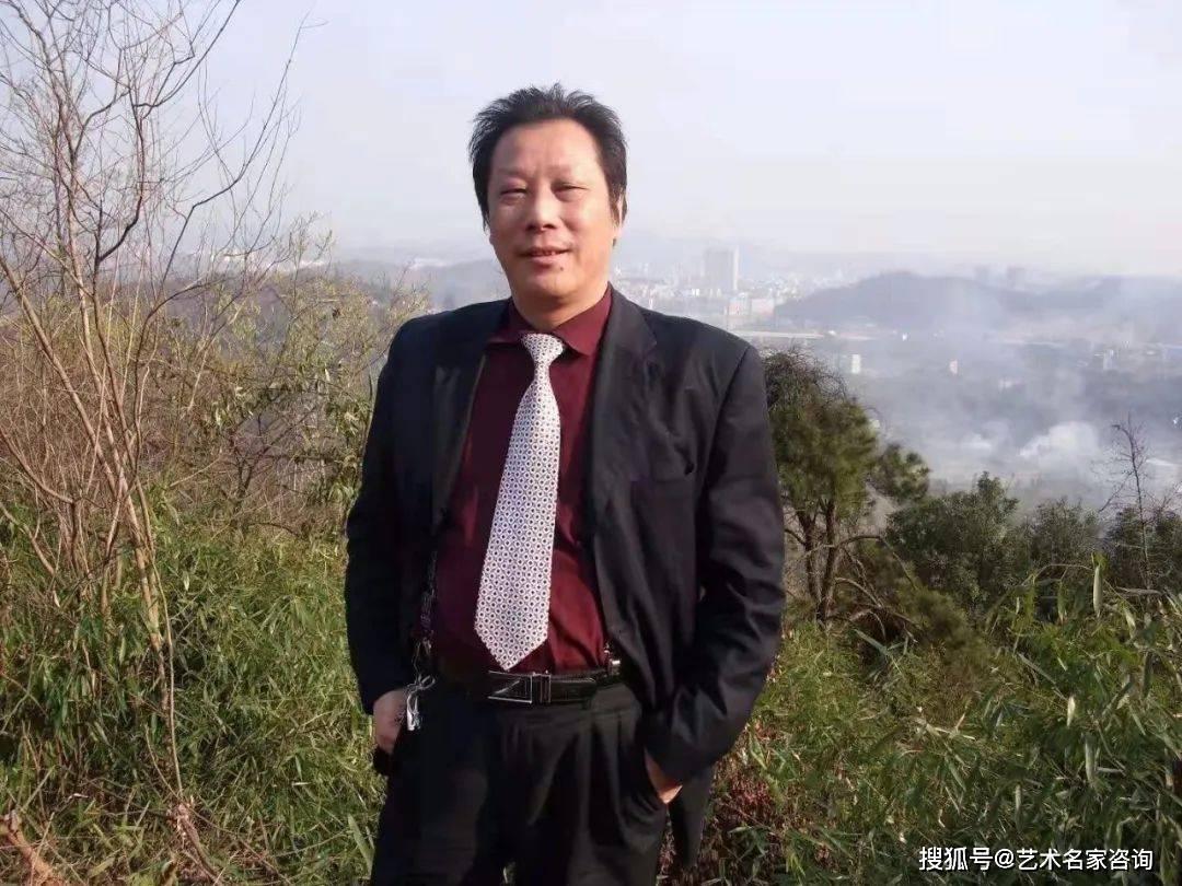 中国当代著名画家蒋长虹