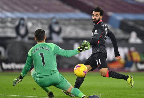 利物浦前瞻:萨拉赫冲索帅进球纪录 两新援迎首秀_布莱顿