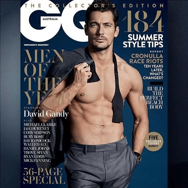 顶级男超模复出拍大片 41岁依然帅!靠满身肌肉改变男模界审美 爸爸 第17张