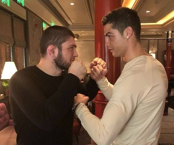 小鹰哈比布:如果C罗出生在达吉斯坦,他可以赢得UFC世界冠军