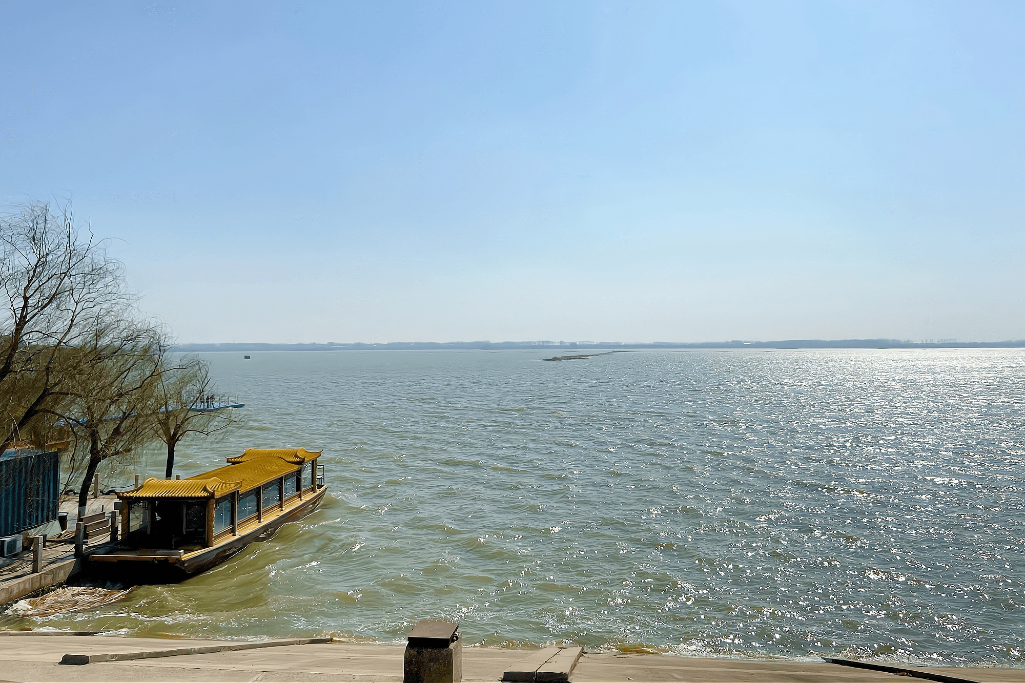 """单县浮龙湖,菏泽市唯一的省级旅游度假区,被誉为""""江北西湖"""""""