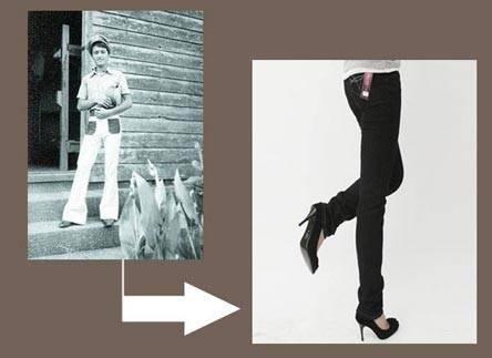 你好李焕英时装之旅:1981年穿破洞裤被误会穷?贾晓玲时尚谁懂