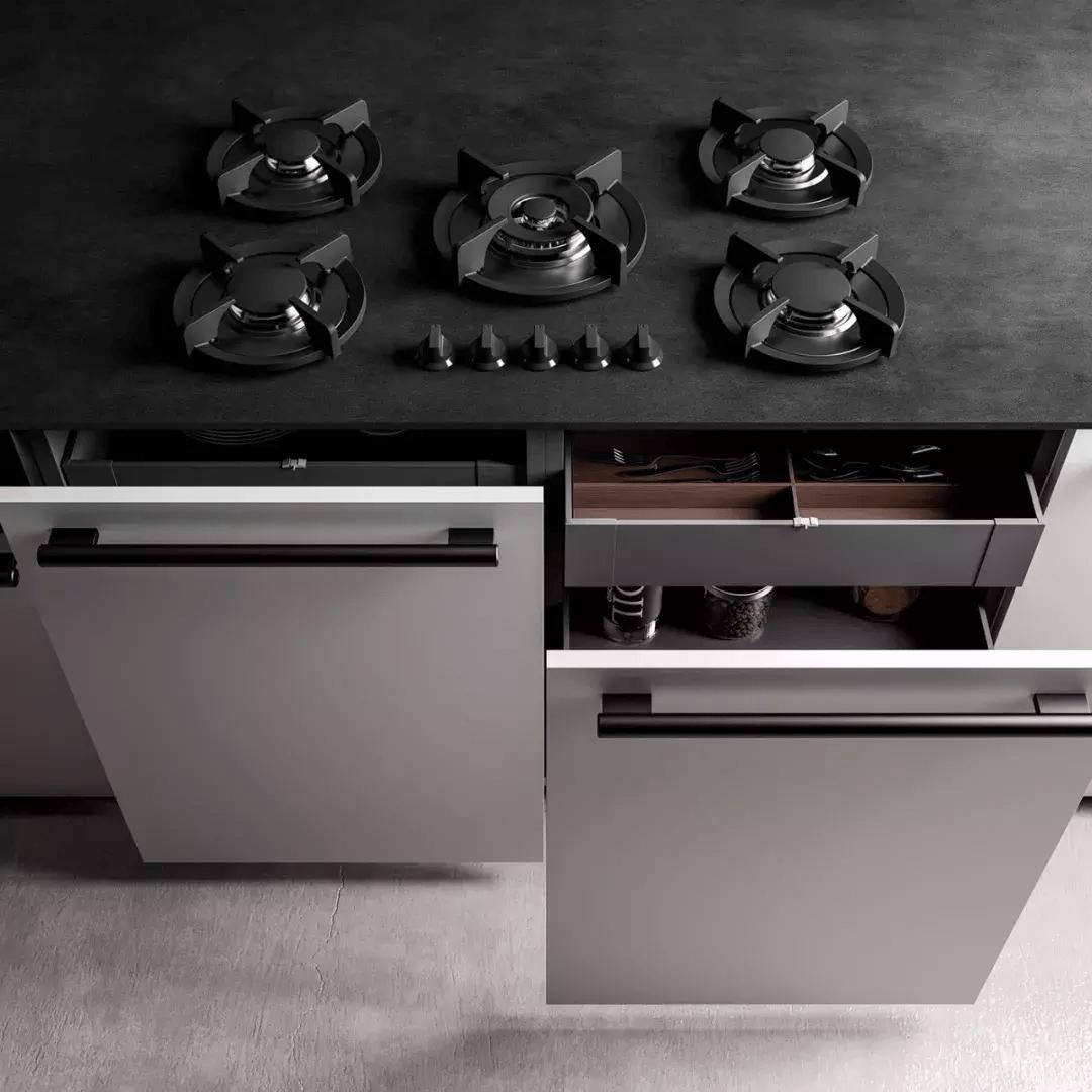 如果我变得很有钱了,家里的厨房一定砸掉重装成这样!