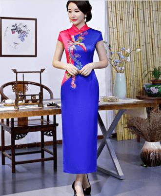 心理测试:四套旗袍,你最喜欢哪套?测你命中注定是啥命?  第4张