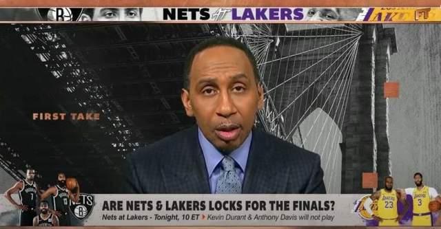 A-史密斯:如果湖人和篮网都能保持健康,他们将会在总决赛相遇!