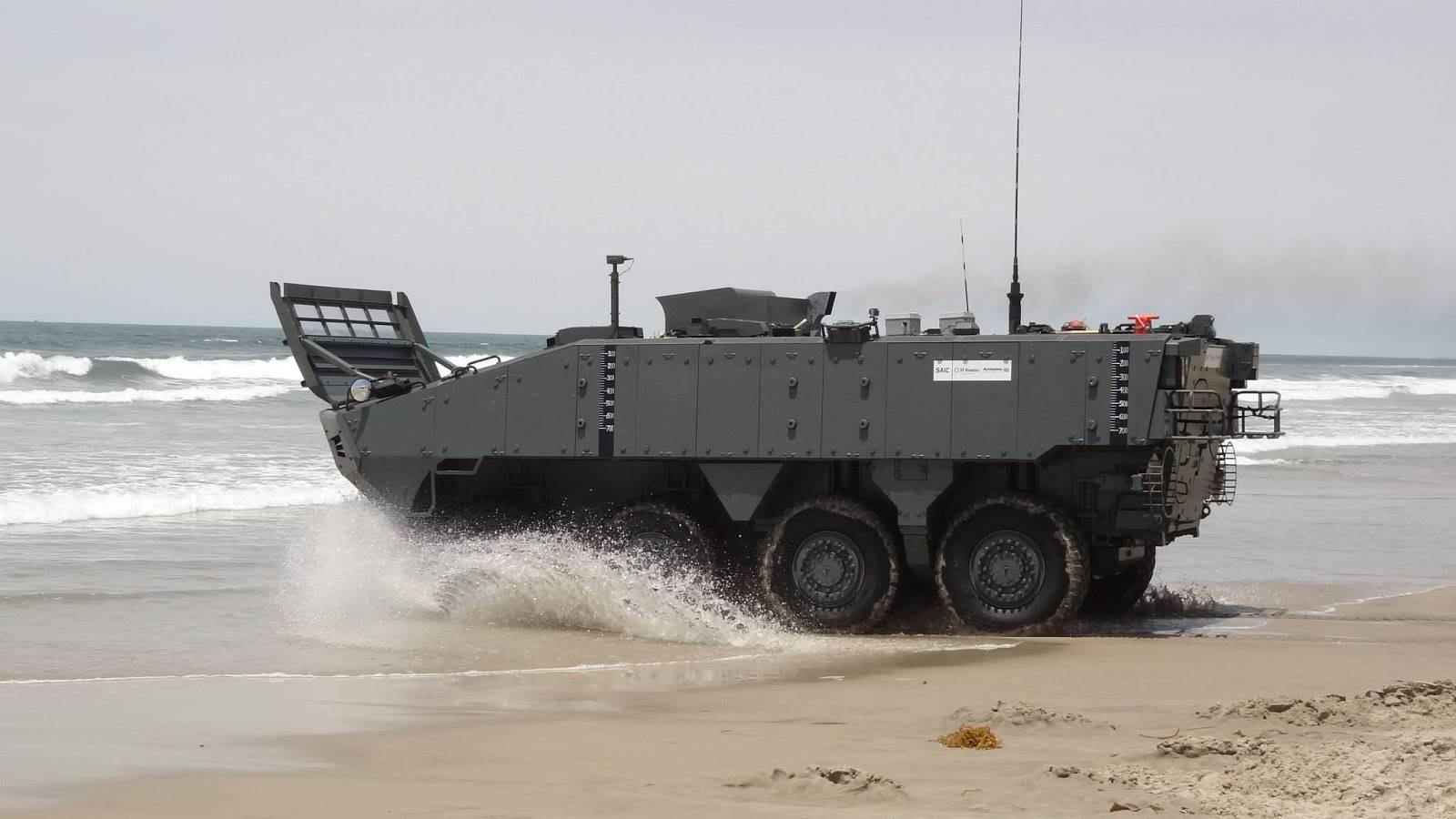 美海军陆战队新战车技不如人,虽技术升级,性能却隐患重重!
