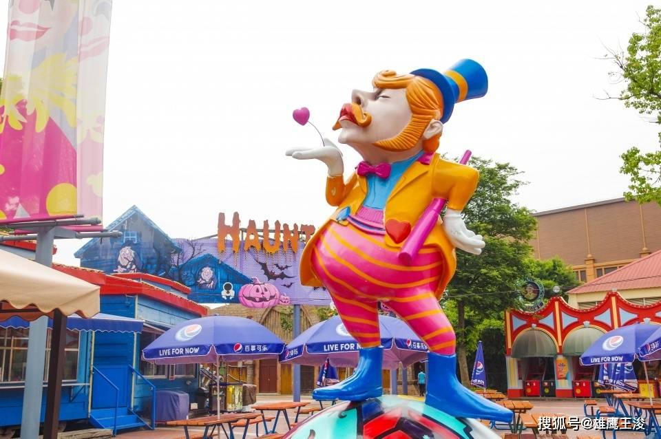 原创             春节上海打卡游,游人如织,项目多达100多项的欢乐谷不可错过