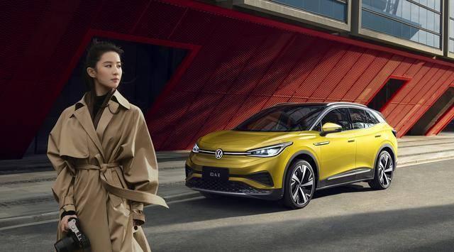 上汽大众ID.4 X紧凑型纯电动SUV新选择