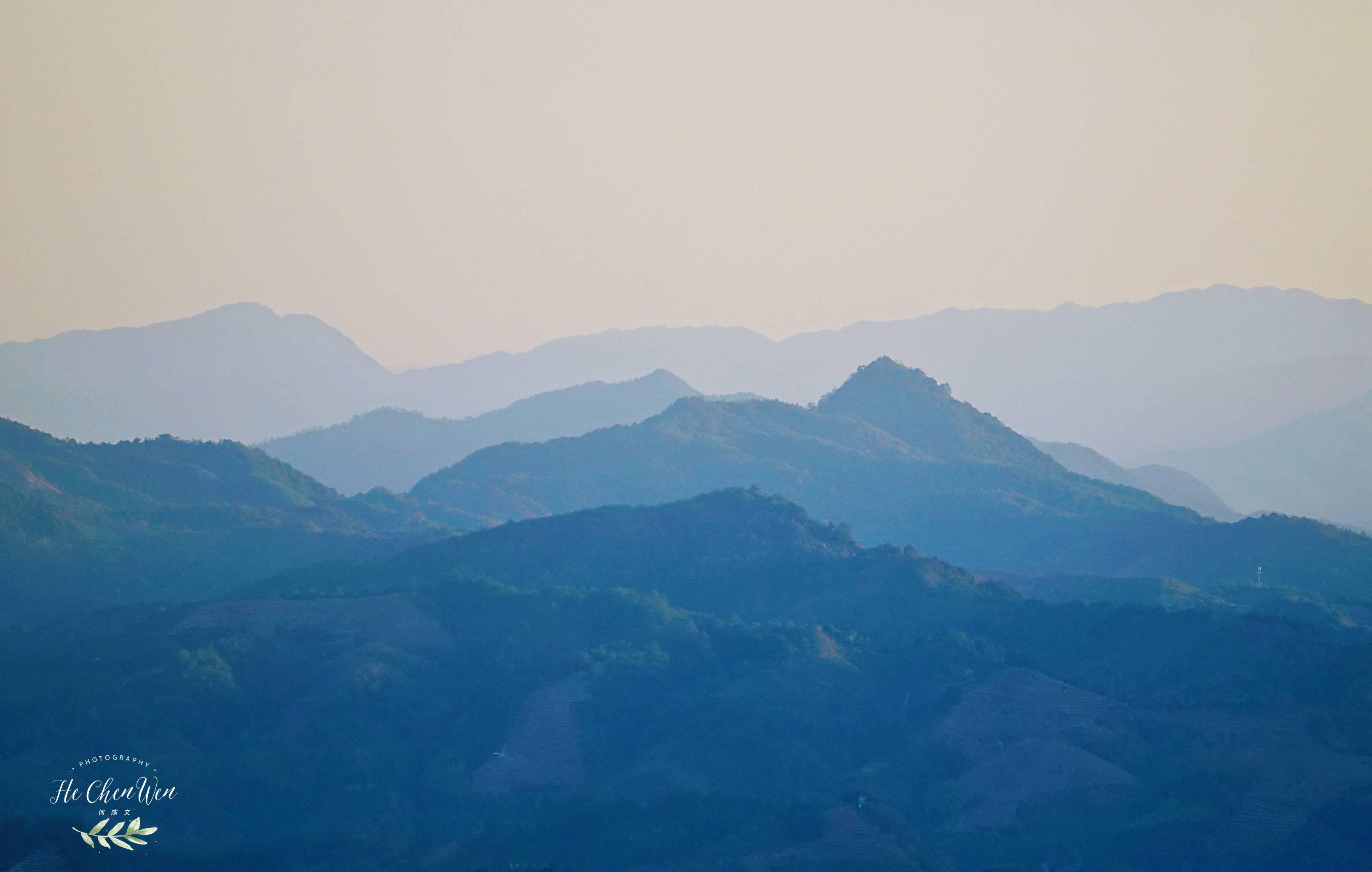 原创             福建生态小镇,山连着山,水连着水,藏着一片世外桃源的茶山