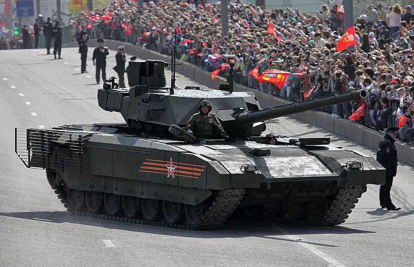地表最强战车:俄制T-14主战坦克阿玛塔到底先进在哪里?