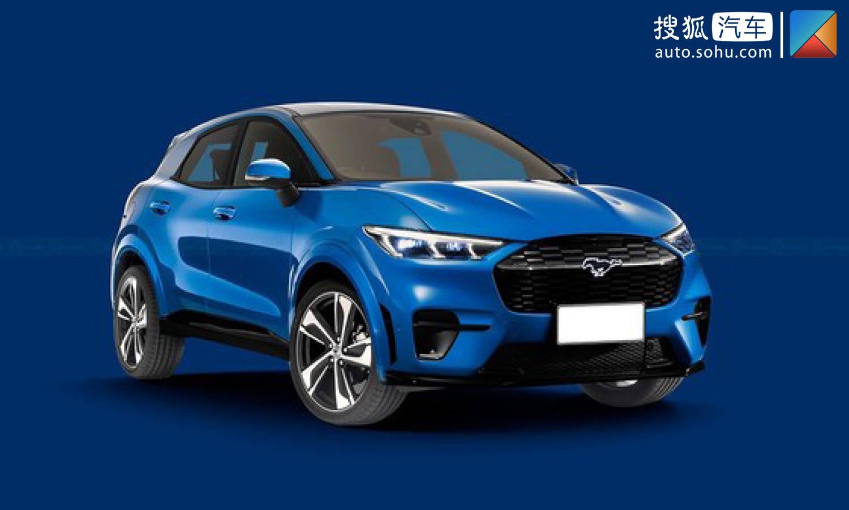福特第二款純電SUV渲染圖曝光 搭載MEB平台/預計2023年推出