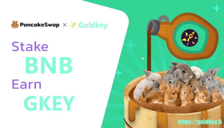 GOLDKEY.Fi开启预售 3月开始质押和流动性挖矿