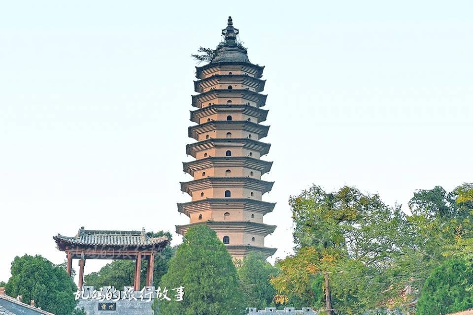 """山西这座寺庙 有中国最早的佛塔 被誉""""中条第一禅林""""却少有人知"""