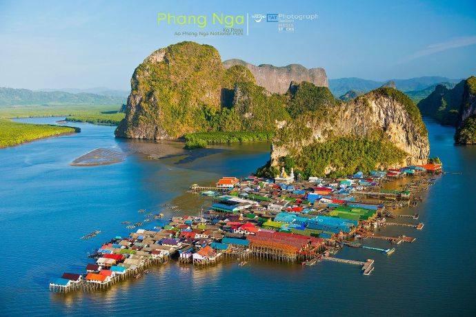 攀牙府海上穆斯林渔村——潘宜岛