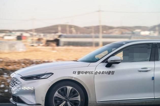 起亚的新K8真实汽车地图曝光提供了各种权力