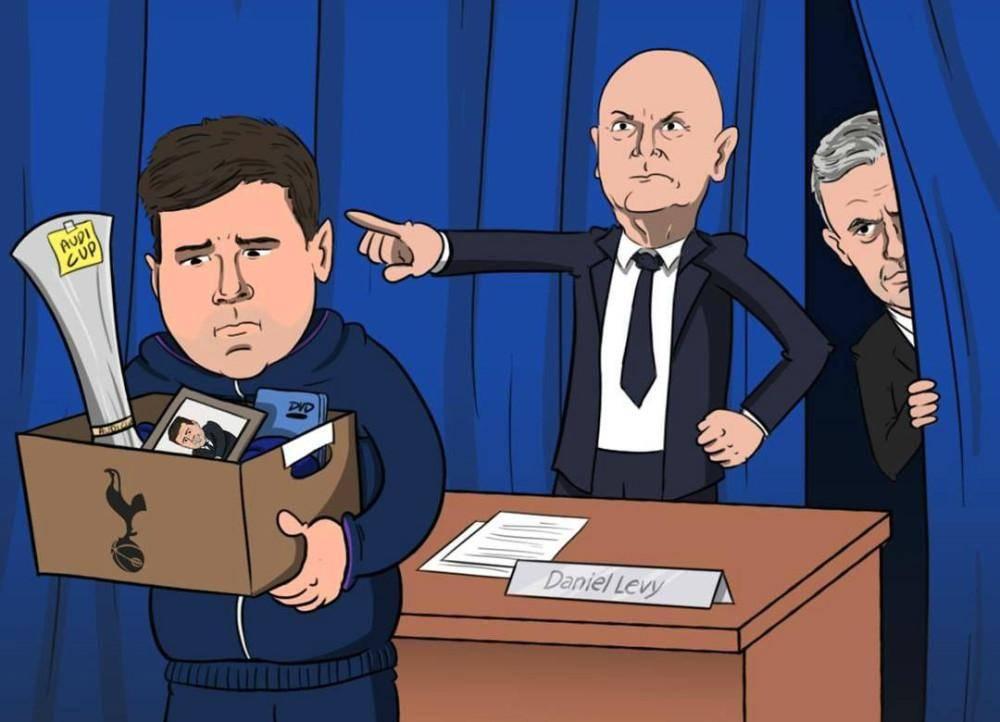 热刺旧将:穆里尼奥不应该下课 列维要像曼联支持索尔斯克亚那样支持他