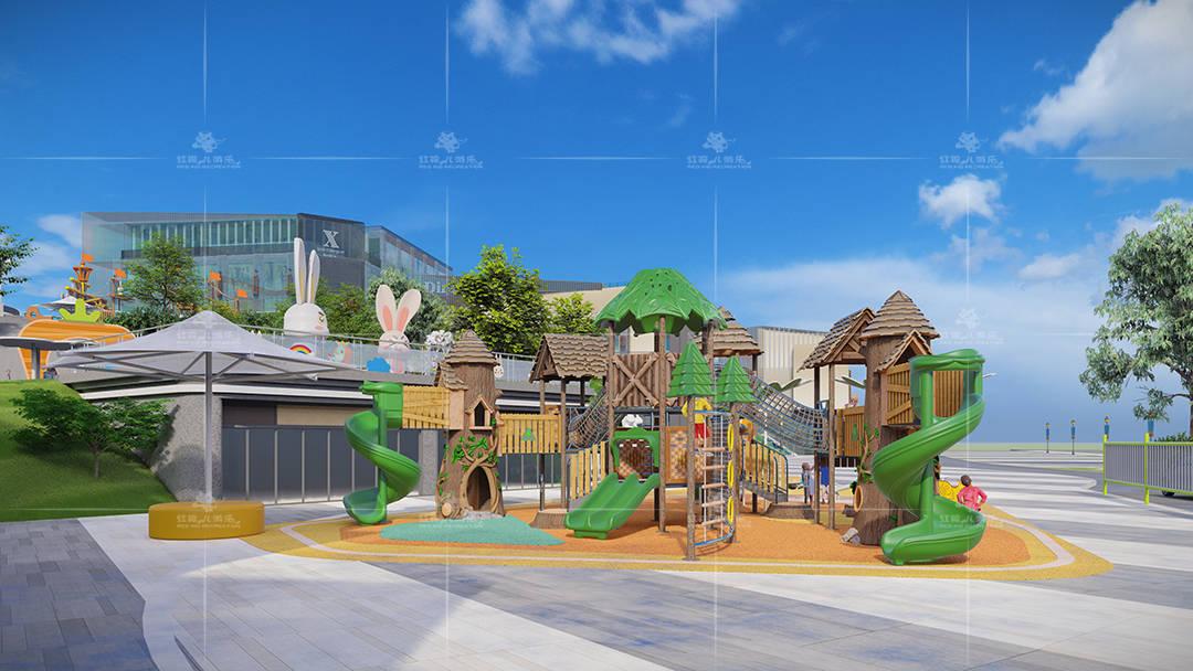 公园里的游乐设施有哪些?这几类是主流