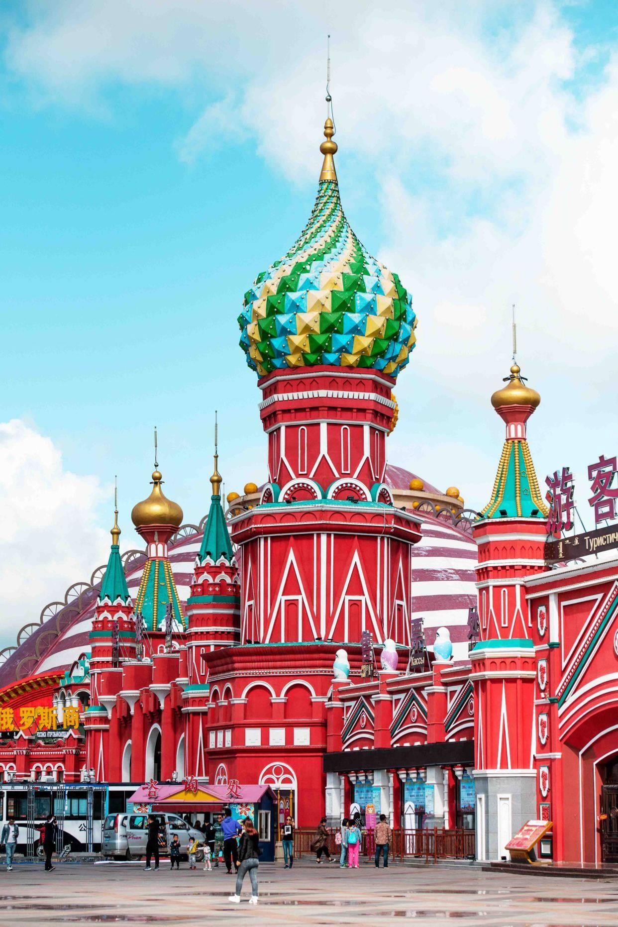 内蒙古满洲里藏了个套娃广场,被列入世界吉尼斯纪录,你想去玩吗