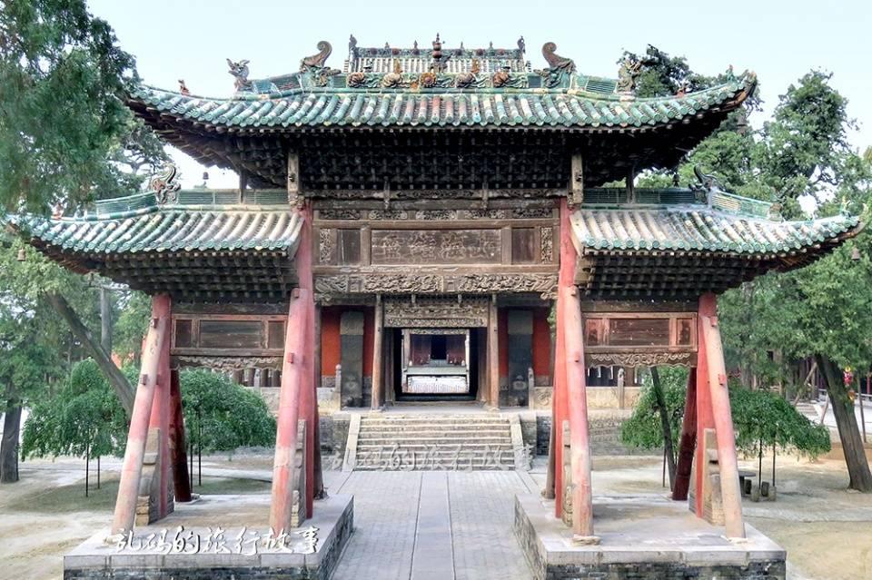 """山西这座关帝庙,被誉为""""关庙之祖"""",罕见建筑结构国内独此一处"""