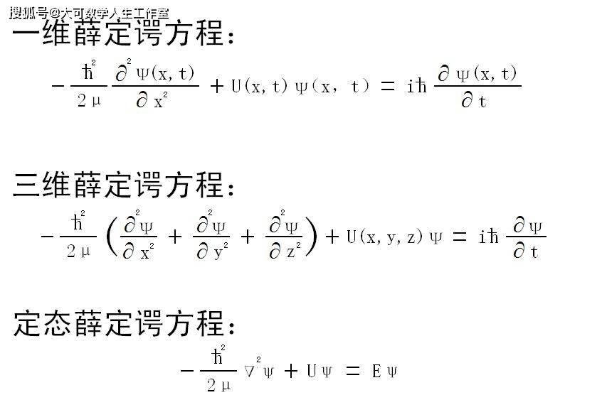 狄拉克方程:量子力学与狭义相对论的第一次融合  第12张